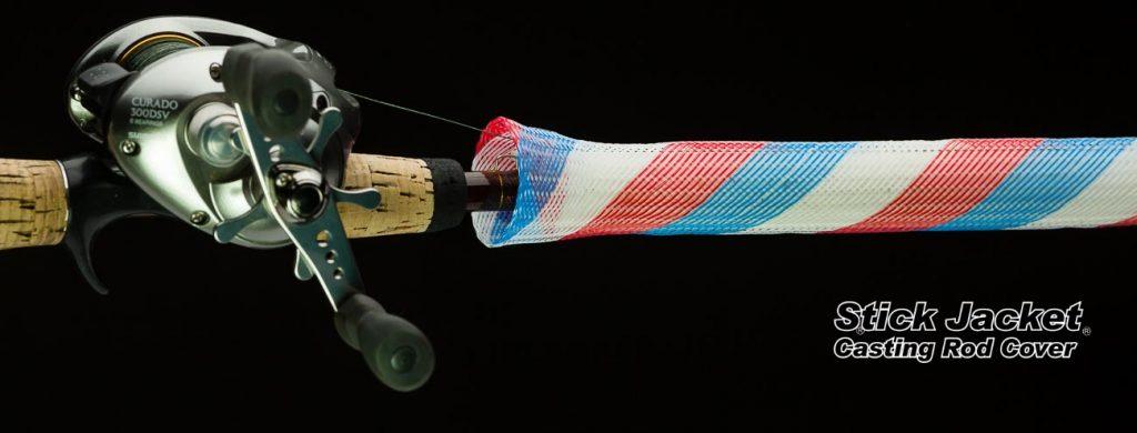 "2004 Patriot Casting Stick Jacket® Fishing Rod Cover (5-1/2'x5-1/8"")"