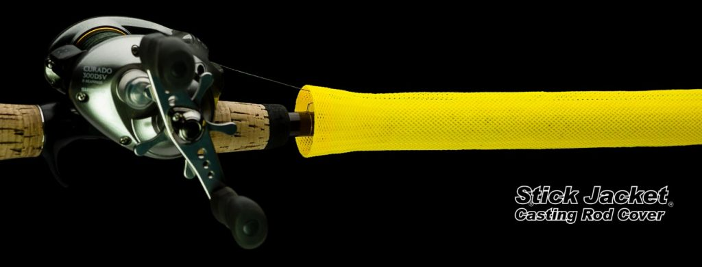 """2007 Yellow Casting Stick Jacket® Fishing Rod Cover (5-1/2'x5-1/8"""")"""