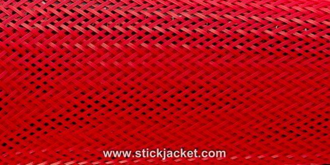2023 Red Spinning Stick Jacket® Fishing Rod Cover (5-1/2'x7-3/4