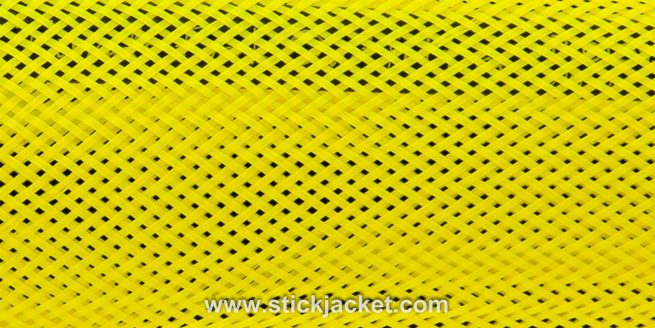 2024 Yellow Spinning Stick Jacket® Fishing Rod Cover (5-1/2'x7-