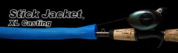 "2031 Blue XLCasting Stick Jacket® Fishing Rod Cover (6-1/2'x5-1/8"")"