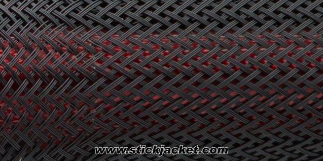 "2060 Black BigGame6 Stick Jacket® Fishing Rod Cover (6'x5-3/4"")"