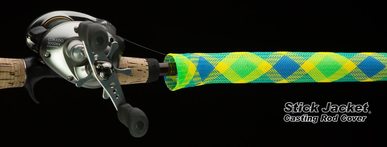 "2111 Bayou Boogie Casting Stick Jacket® Fishing Rod Cover (5-1/2'x5-1/8"")"