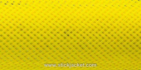 "2053 Yellow ICE Stick Jacket® Fishing Rod Cover (22'x5-1/8"")"