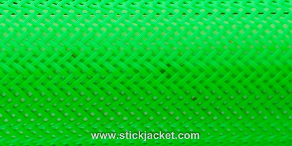 2054 Neon Green ICE Stick Jacket® Fishing Rod Cover (22'x5-1/8""