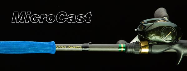 "2085 Blue MicroCast Stick Jacket® Fishing Rod Cover (5-1/2'x2-1/2"")"