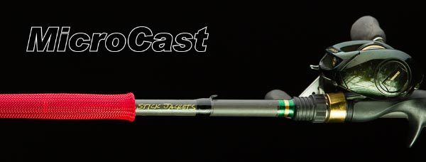 "2086 Red MicroCast Stick Jacket® Fishing Rod Cover (5-1/2'x2-1/2"")"