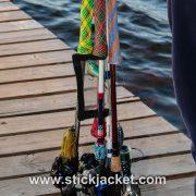Plug Jacket going to the lake