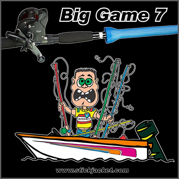 Stick-Jacket-Big-Game-7-Rodney-Tangles-in-Boat