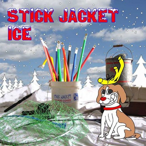Stick Jacket Ice Rod Covers