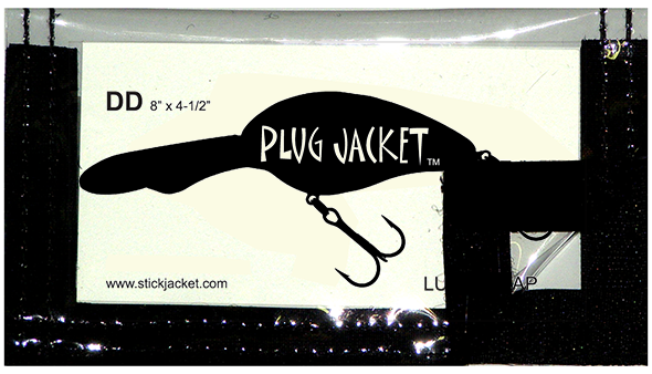 dd Plug Jacket Lure Wrap by Stick Jacket